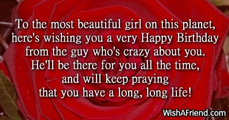 Happy Birthday Wishes For Girlfriend | Birthday quotes for girlfriend, Birthday  wishes for girlfriend, Happy birthday quotes for her