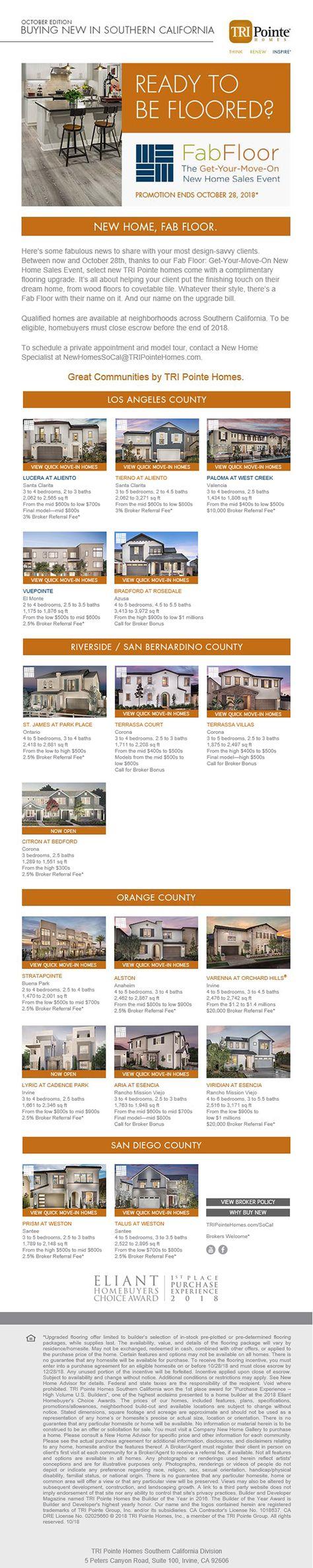 Find your home   broker's corner   Flooring sale, New homes