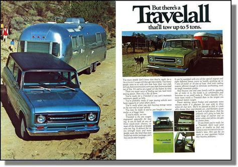 Travelall pulling Airstream