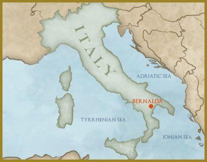 Bernalda Italy Map   Zip Code Map