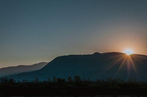 Free Image on Pixabay - Sunrise, Mountain, Nature