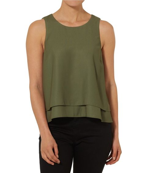 Clothing - Double Layer Top - Clothing - Sportsgirl