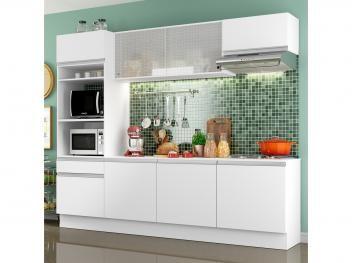 Cozinha Completa Madesa Ametista G20088 Com Balcao Nicho Para Forno Ou Micro Ondas 8 Portas 1 Gaveta Cozinha Completa Cozinha Compacta Decoracao De Casa