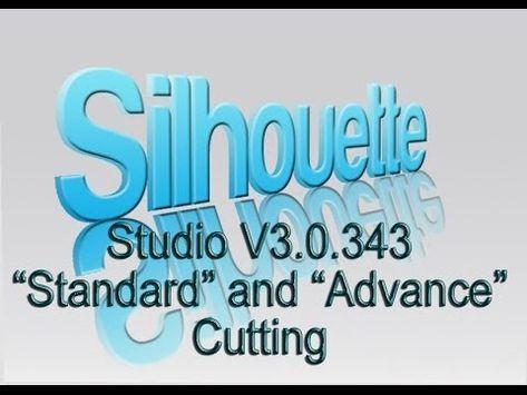 Studio V3.0.343 _Standard_ and _Advance_ Cutting