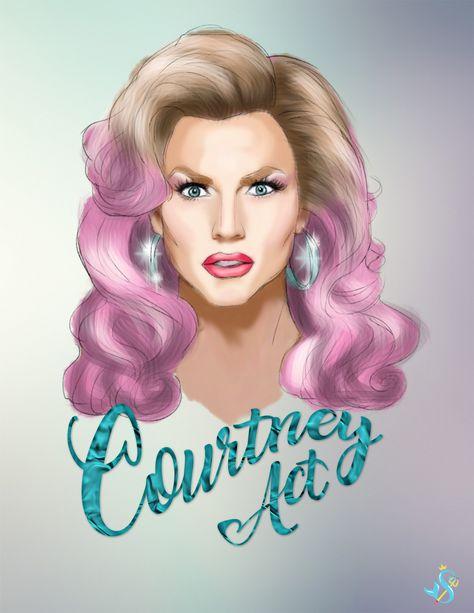 Courtney Act - RuPauls Drag Race Season 6 Premiere Party