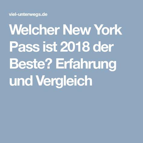 New York Pass Vergleich 2019 Erfahrung Vergleich Rabattcode