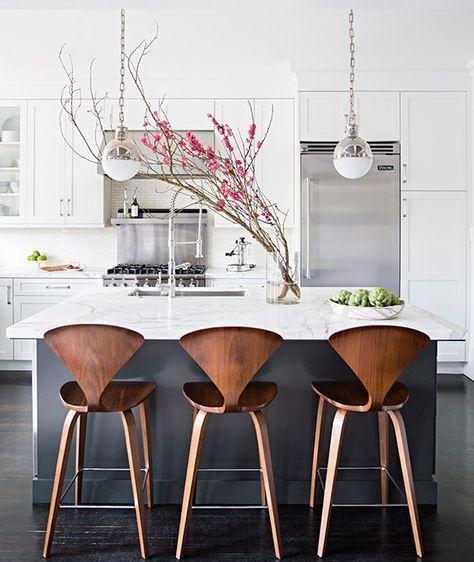 26 Ideas Kitchen Bar Chairs Modern Islands For 2019 Grey Kitchen Designs Kitchen Marble Grey Kitchen Island