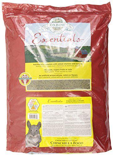 Oxbow Animal Health Essentials Deluxe Chinchilla Food 25 Pound Chinchilla Food Pet Health Food