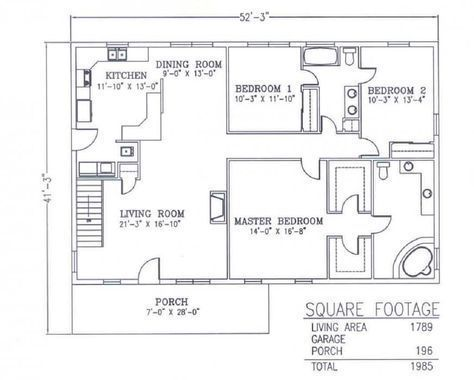 Steel Buildings With Living Quarters Floor Plans Bedrooms 3 Bathrooms 2 Living Square Feet 17 Shop With Living Quarters Shop Building Plans House Floor Plans