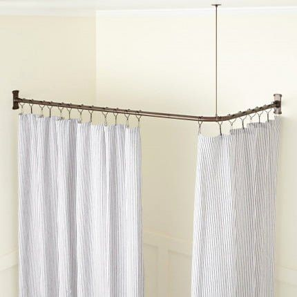 Disabled Bathroom Interior Beautiful Shower Curtain Rods