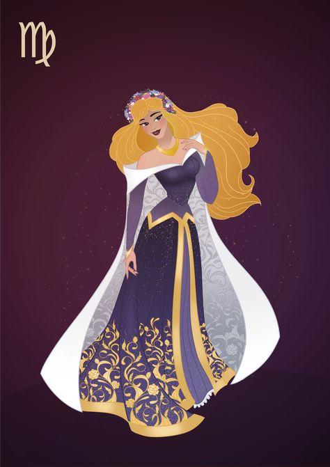 Lucy Corsetry (Bishonenrancher) — princessesfanarts: Zodiac Princesses by Grodansnagel
