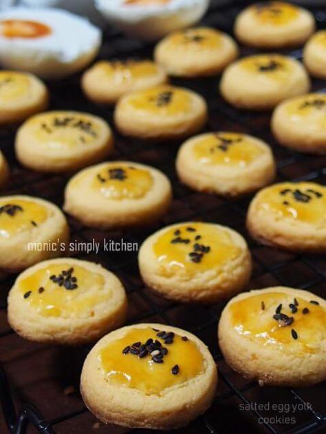 Kukis Telur Asin Resep Makanan Resep Biskuit Resep