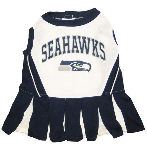 Seattle Seahawks Dog Cheerleader Dress  6316fef3c