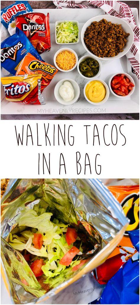 Walking Tacos (Tacos in a bag)