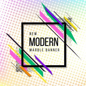 Modern Abstract Halftone Effect Background Banner Pink Red Blue