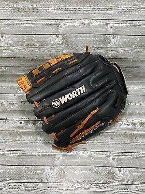 Worth Baseball Softball 13 5 Pattern Glove W135bf In 2020 Baseball Youth Baseball Baseball Softball