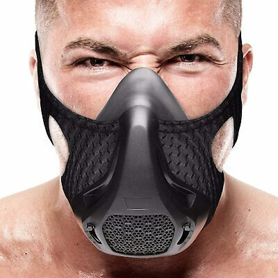 High Altitude Mma Fitness Oxygen Mask Cardio Running Workout Exercise Sport Mask In 2020 Endurance Workout Workout Accessories Cardio Workout