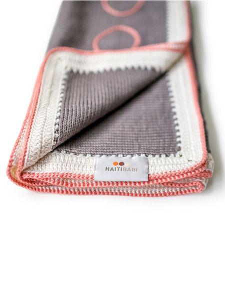 Hand Knit Pima Cotton Baby Blanket Mauve 78 00 Usd 100 All Natural Pesticide Free Pima Cotton Dimensi Pima Cotton Baby Blanket Hand Knitting Baby Blanket