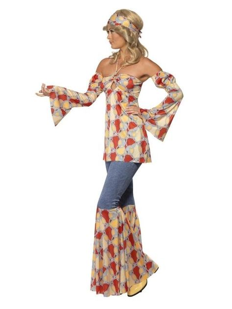 Costumes for Women. Dress for your next party or enjoy Halloween fun as the Vintage Hippie Adult Costume.