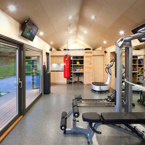 Transformer Son Garage Ou Son Sous Sol En Salle De Gym Salle De