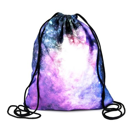 Sunset Beach Personalized Gym Drawstring Bags Travel Backpack Tote School Rucksack