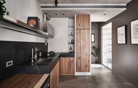 Aménagement intérieur d\'un petit appartement moderne à Taiwan par KC ...