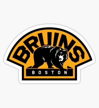 Stickers Boston Bruins Logo Bruins Boston Bruins