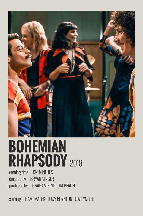 Bohemian Rhapsody - Polaroid Poster