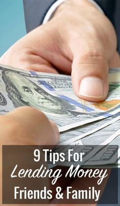 How To Lend Money To Friends And Family The Right Way Low Interest Personal Loans Personal Loans Money