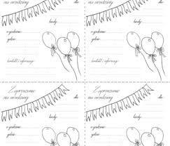 List Of Pinterest Zaproszenia Na Urodziny Do Druku Pictures