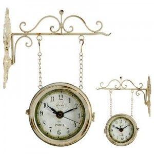 double sided vintage train station clock drum u0026 thistle pinterest clocks