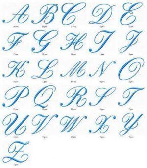 Moldes De Letras Cursivas Para Imprimir Abecedario En Letra Grande In 2020 Fancy Writing Alphabet Fancy Writing Lettering Alphabet