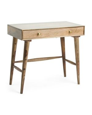 Made In India Mid Century Writing Desk Mid Century Writing Desk Desk Accents Writing Desk