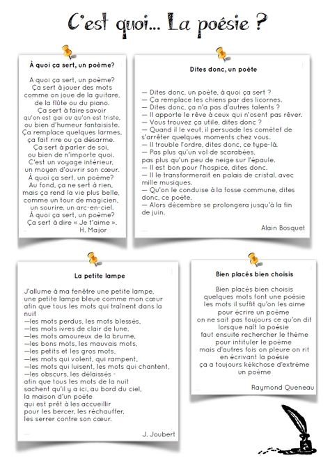 [Rentrée] C'est quoi la poésie ?   ma classe mon école - cycle 3 - CE2 CM1 CM2 - Orphys