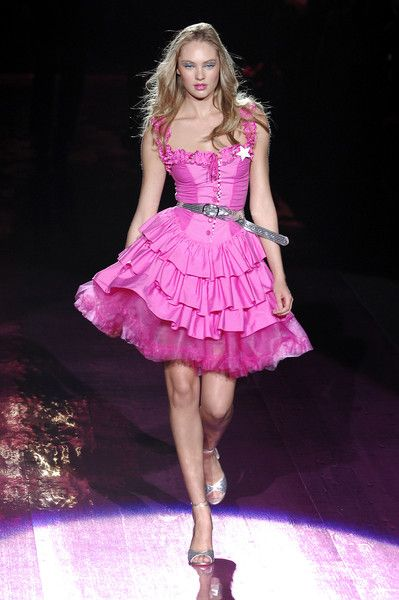 Betsey Johnson at New York Fashion Week Spring 2008 | Betsey johnson ...