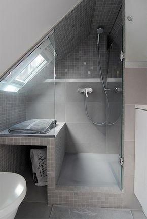 Mochten Sie Ein Traumhaftes Dachgeschoss Einrichten 40 Tolle Ideen Archzine Net Badezimmer Dachgeschoss Badezimmer Dachschrage Duschkabine