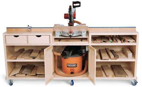 Miter Saw Stand...Portable
