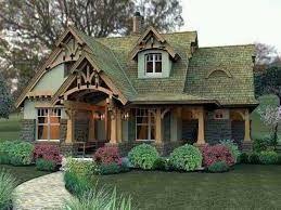 German Style Cottage Craftsman House House Plans Cottage House Plans