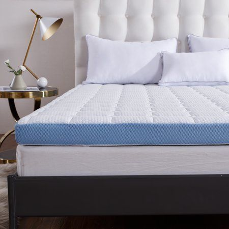 Cr 3 Inch Foam Mattress Topper With Ultra Soft Cover Twin Size