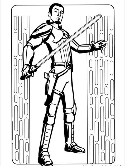Star Wars Coloring Pages For Toddlers Following This Is Our Collection Of Star Wars Coloring Page You Are Free To Download And Make It Your Child S Learning M