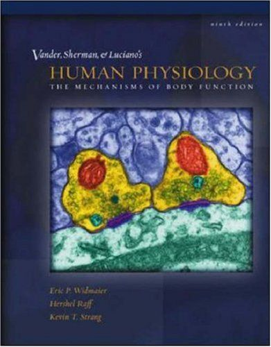 Mp Vander Et Al S Human Physiology Physiology Human Used Books