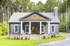 Plan 86339hh Storybook Bungalow With Large Front And Back Porches