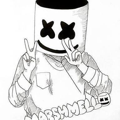 Love You Marshmello Imagenes De Marshmello Dibujos De Marshmello Dibujos