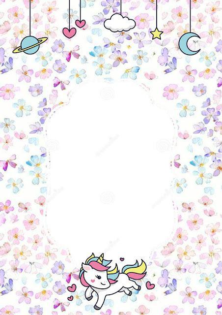 pin on baby shower unicornio