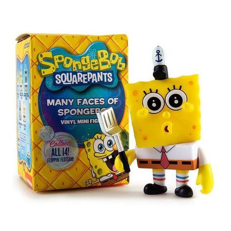 Many Faces of SpongeBob SquarePants Blind Box Mini Figure