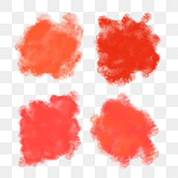 Collection Of Red And Orange Watercolor Brush Painted On Transparent Brush Watercolor Paint Png Transparent Clipart Image And Psd File For Free Download Open Art Watercolor Painting