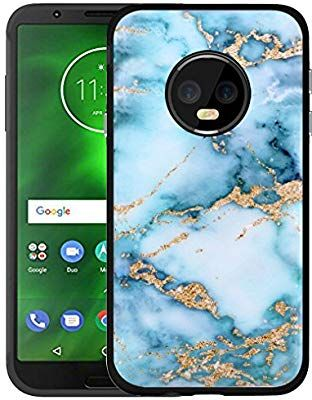 sale retailer 60608 f68d8 Amazon.com: Case for Moto G6 Granite & Case for Moto G6 Protector ...