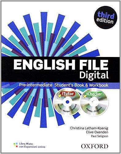 English File Digital Pre Intermediate Student S Book Workbook With Keys Per Le Scuole Superiori Teacher Books Workbook English File