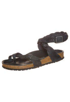 separation shoes dfcf0 007ad Birkenstock YARA - Zehentrenner - schwarz - Zalando.de ...
