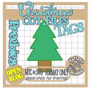 Free svg christmas gift tags